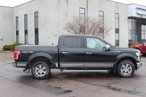 Pre-Owned 2015 FORD F-150 Lariat 4 WHEEL Pickup - Full Size