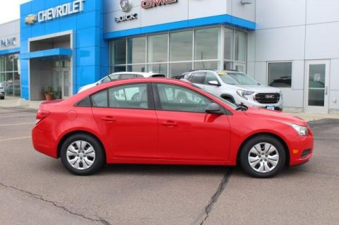 Pre-Owned 2014 CHEVROLET CRUZE LS FRONT WHEEL 4 Door