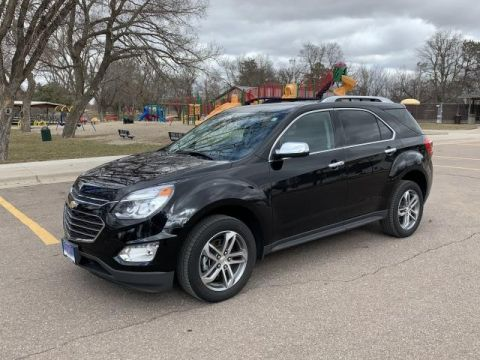 Pre-Owned 2017 CHEVROLET EQUINOX Premier ALL WHEEL Sport Utility
