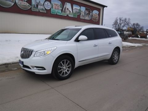 Pre-Owned 2017 BUICK ENCLAVE Leather ALL WHEEL Sport Utility
